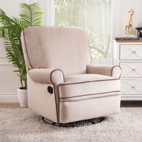 Houston Swivel Glider Recliner (Choose Color)