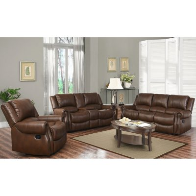 Harvest Reclining Sofa Loveseat and Chair Set Sams Club