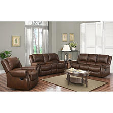 Harvest Reclining Sofa, Loveseat and Chair Set