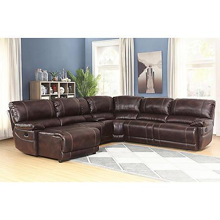 Carrington 6-Piece Sectional Sofa, Various Colors
