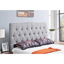 Marie Tufted Upholstered Headboard (Assorted Sizes and Colors)