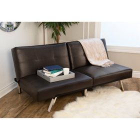 Stanford Convertible Split Back Sofa Futon Orted Colors