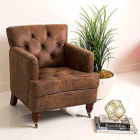 Taylor Fabric Club Chair