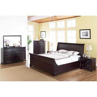Lancaster Bedroom Furniture Set Assorted Sizes Sam 39 S Club