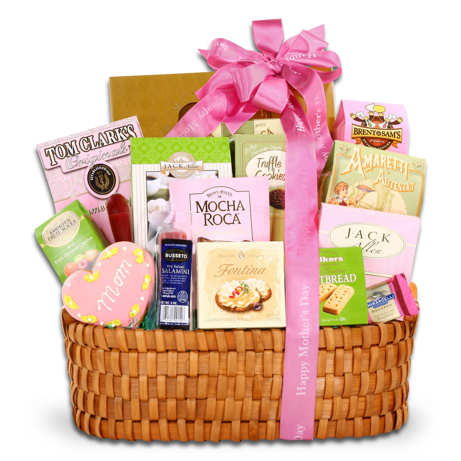 16-Piece Mother's Day Gourmet Gift Basket