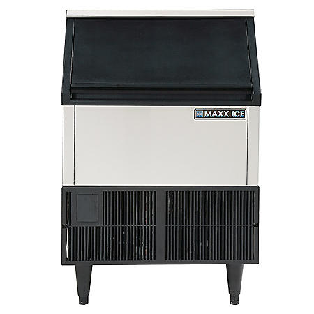 Maxx Ice Freestanding Icemaker in Stainless Steel (250 lbs.)