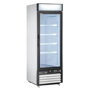 Maxx Cold X Series Single Door Upright Merchandiser