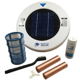 Remington Solar Chlorine-Free Sun Shock Pool Purifier Plus Extra Copper Anode