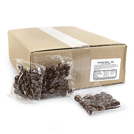 Individually Wrapped Chocolate Raisins (5 lbs.)
