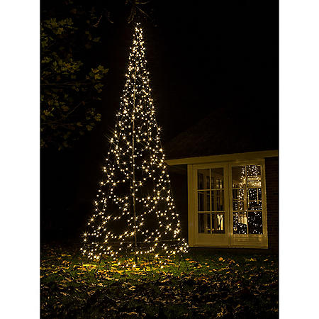 13 75 Fairybell Outdoor Led Christmas Tree With 640 Warm