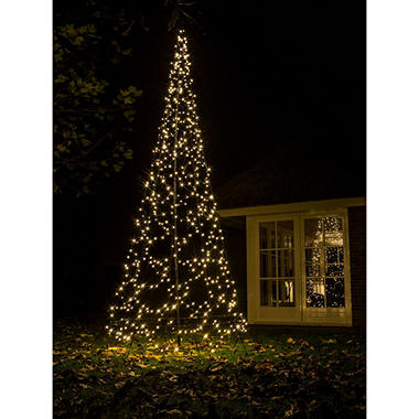 1375 fairybell outdoor led christmas tree with 640 warm white led lights