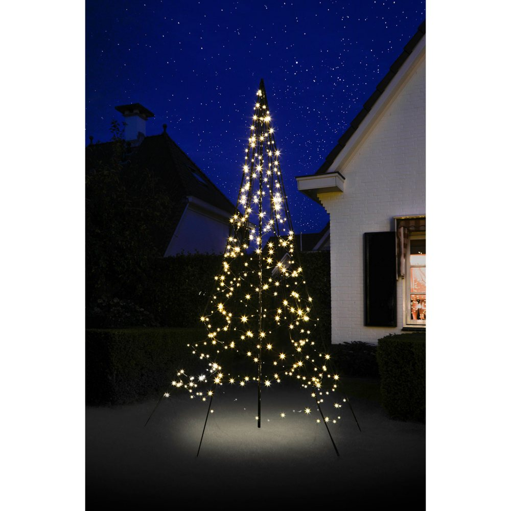 Christmas Tree Setup.Details About 10ft Fairybell Outdoor Christmas Tree With 360 Warm White Led Lights Ez Setup