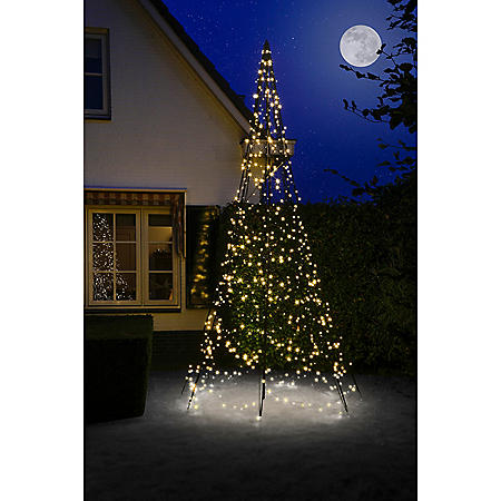 Outdoor Christmas Tree With Lights.13 Fairybell Outdoor Christmas Tree With 640 Led Lights Sam S Club