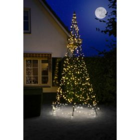13' Fairybell Outdoor Christmas Tree with 640 LED Lights