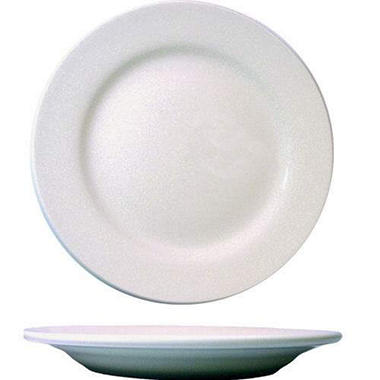 Dover Plate RE - Porcelain White