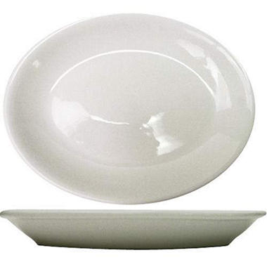 Dover Platter RE - Porcelain White - 11 3/4