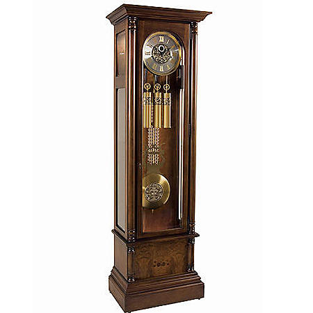 Ridgeway Brampton Grandfather Clock - Cherry