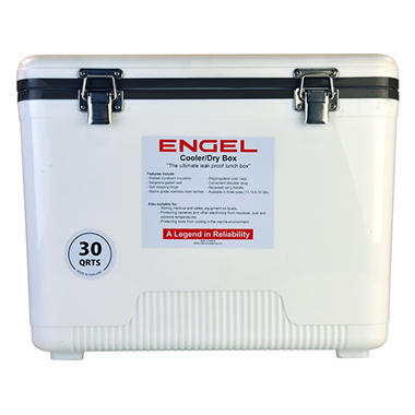 Engle Cooler/Dry Box, 30 Qt.