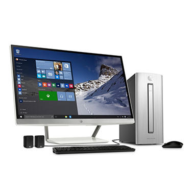 HP Envy Desktop Bundle with 27