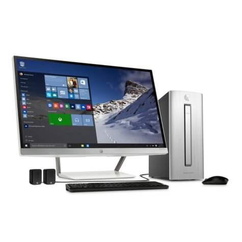 "HP Envy Desktop Bundle with 27"" Monitor 750-137cb, Intel Core i7-6700 Processor, 12GB Memory, 2 TB Hard Drive, Windows 10"
