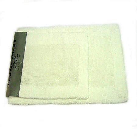 Luxury Rug 100% Cotton - White
