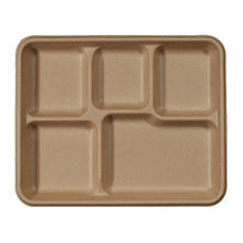 World Centric Plant-Based 5 Compartment Tray (400 ct.)