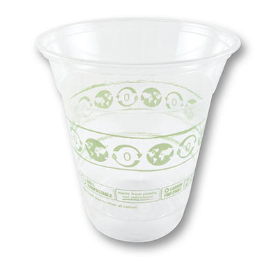 World Centric Compostable/Biodegradable Cold Drink Cups, 12 oz. (1,000 ct.)