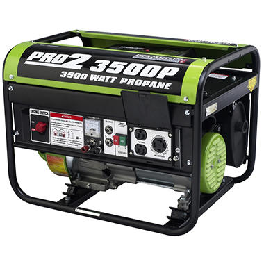 Gentron 2,800 / 3,500 Watt Propane Powered Generator