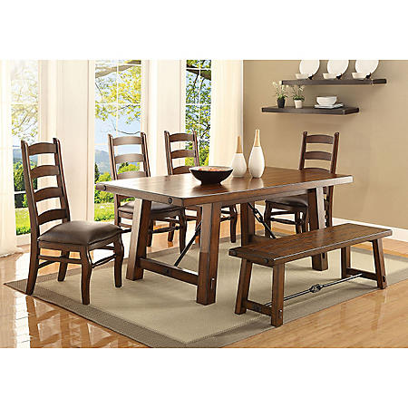 Fraser 6 Piece Dining Set Sam S Club