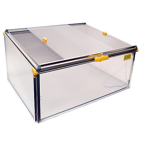 BioStar 1000 Premium 8mm Twin-Wall Polycarbonate Cold Frame with Protective Netting