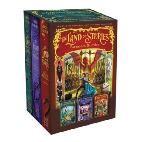 The Land of Stories Paperback Gift Set