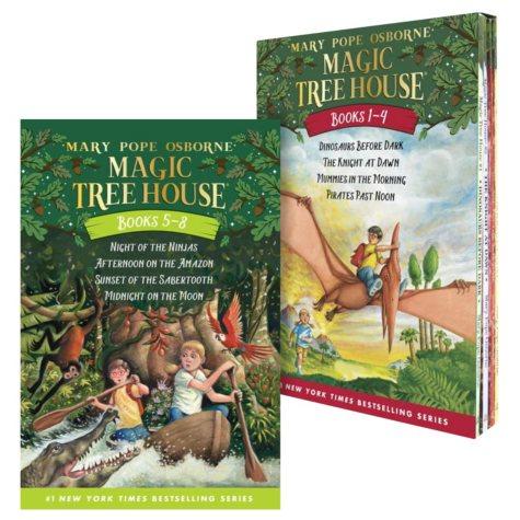 Magic Tree House Boxed Sets: 4 Books per Set