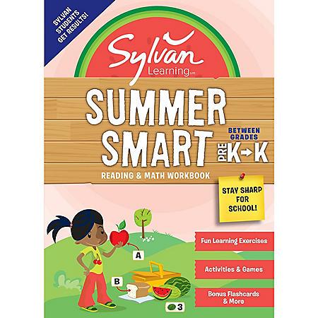 Sylvan Summer Smart Workbook: Between Grades Pre-K and Kindergarten
