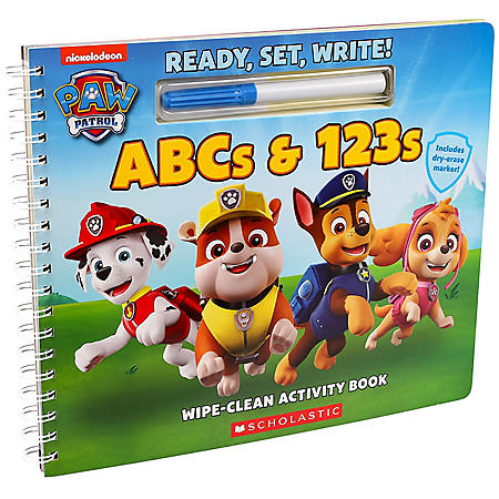 Write-On Wipe-Off Paw Patrol