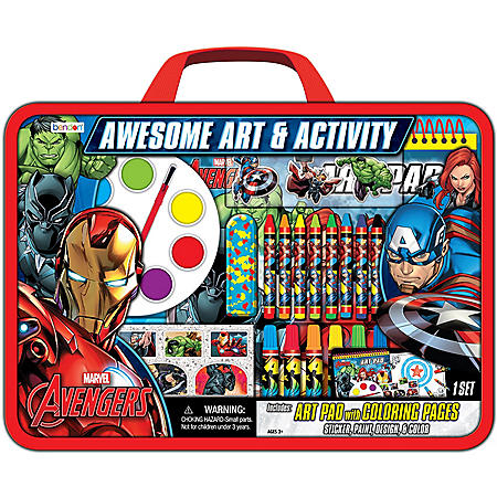 Disney Marvel Awesome Art & Activity Set