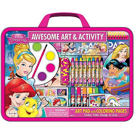 Disney Princess Awesome Art & Activity Set
