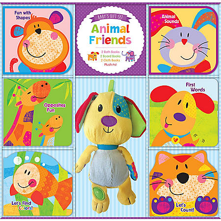 Deluxe Baby Gift Set - Animal Friends