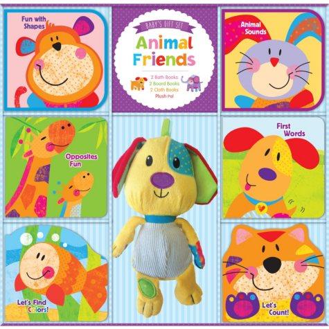Deluxe Baby Gift Set - Animal Friends