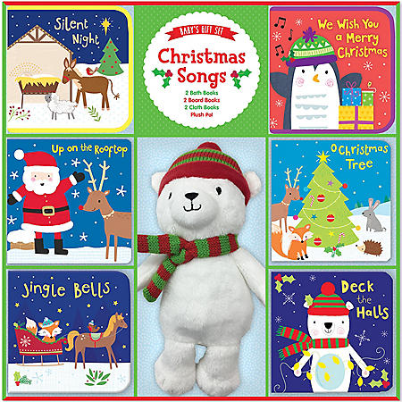 Deluxe Baby Gift Set - Christmas Songs
