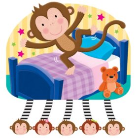 Jiggle & Discover with Sound - Five Little Monkeys