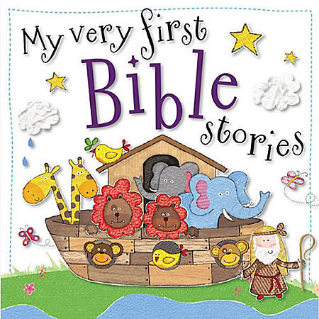 FIRST BIBLE STORIES PADDED BOARD BK