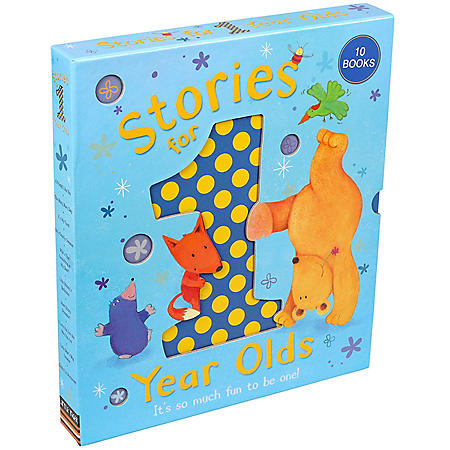 Little Tiger 10 Book Diecut Boxed Set For  1 Year Olds