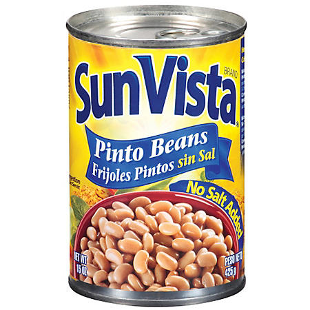 Sun Vista Pinto Beans (15 oz., 8 ct.)